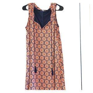 EUC A Line Print Dress